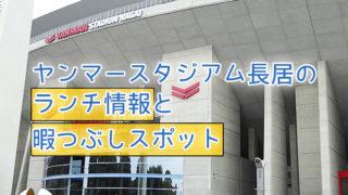 「ヤンマースタジアム長居」ランチ情報と暇つぶしスポット