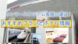 「ヤンマースタジアム長居」に遠征!おすすめプランとホテル情報