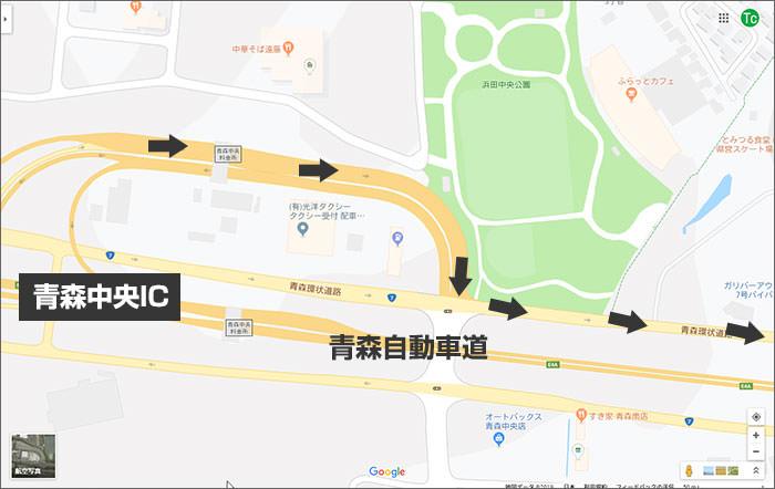 a-nation 2019 青森会場臨時駐車場へのアクセス方法01