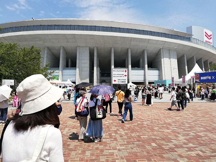 a-nation大阪会場の様子02