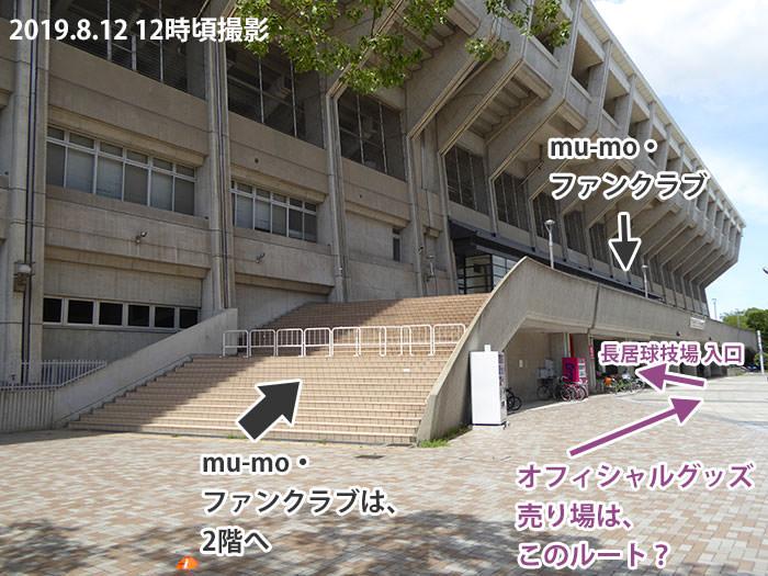 a-nation2019大阪グッズ売り場への案内ルート