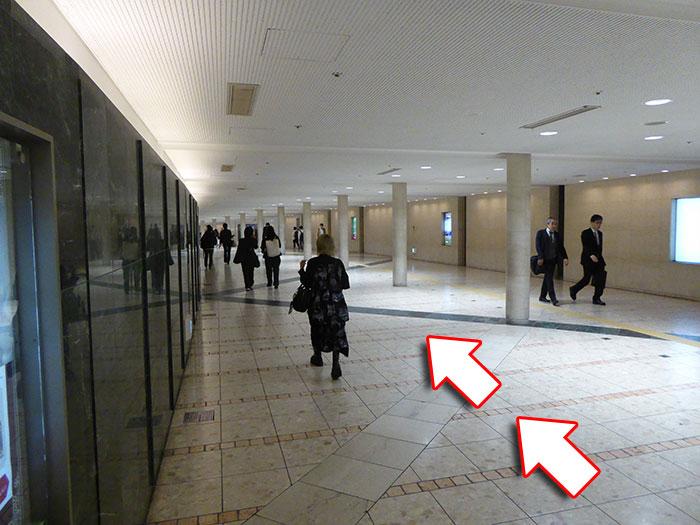 JR大阪駅からビルボードライブ大阪への行き方手順08