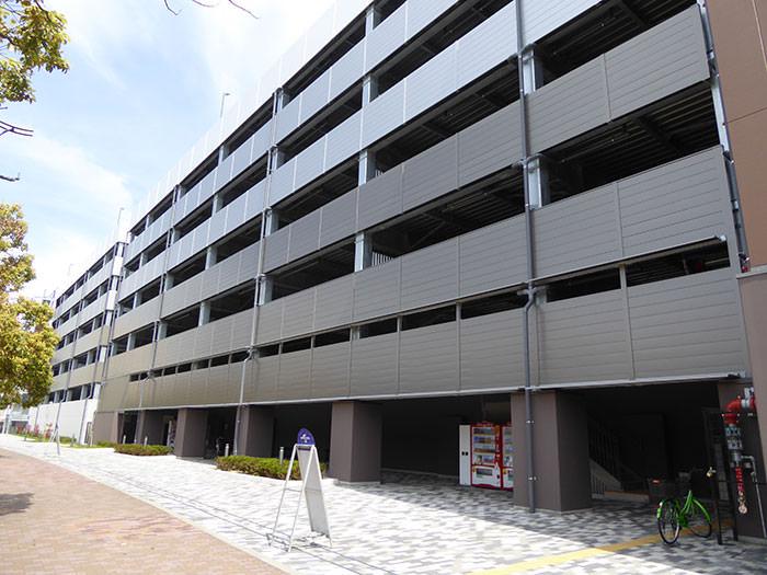 跡地は、桜島第3駐車場