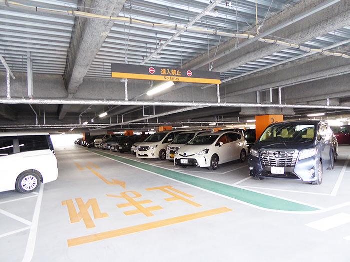 桜島第4駐車場の風景