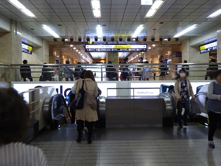 東梅田駅への行き方の手順04